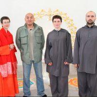 В Дивья Локе гость Лама-буряткского буддизма Арга Тензин